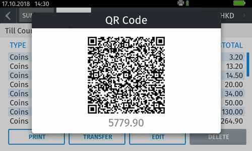 Cashmaster QR link
